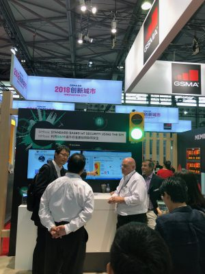 Able Device at MWC Shanghai 2018